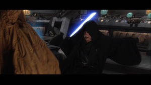 Darth Vader swings