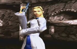 Shadow Hearts Margarete in battle