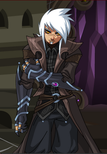 Tomix as he appears in DragonFable Book 1