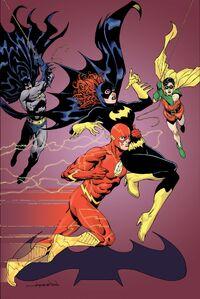 Batgirl Vol 4 38 Textless Flash Variant