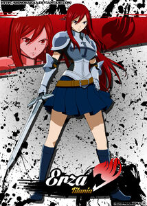 Erza scarlet by shinoharaa-d6r10qo