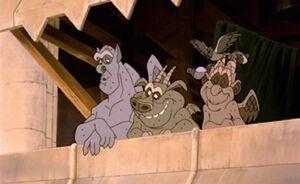 Hunchback2 Gargoyles