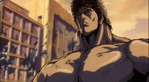 Kenshiro facing Jugai