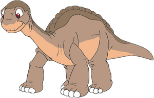 Littlefoot the Apatosaurus