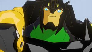 Grimlock Speaks to Bumblebee