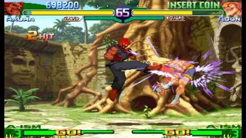 Street Fighter Alpha 3(Zero 3) Expert difficulty Akuma(Gouki) 2 Playthrough