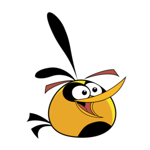 Angry bird normal orange bird by life as a coder-d4f21f2