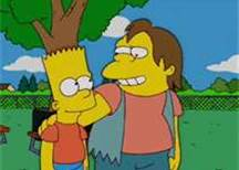 Bart and Nelson