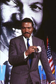 Billy Dee Williams as Harvey Dent