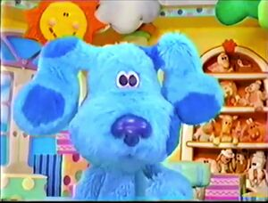 Blue's clues blue's room blue 432234