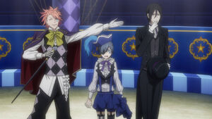 Ciel (Smile) and Sebastian (Black)