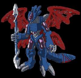Cyberdramon Fusion