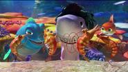 Dylan Ronny & Junior seeing dancing shrimp