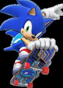 MSOGT Sonic Skateboarding