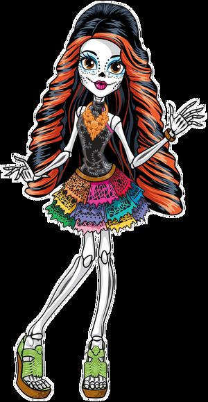 Profile art - Skelita Calaveras