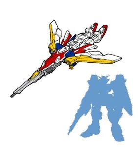 Gundam Wing Gundam 01 Bird Mode