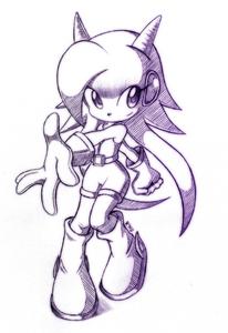 Lilac sketch