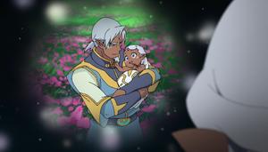 Alfor's memories - Alfor with Baby Allura