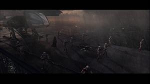 Darth Vader medical escort