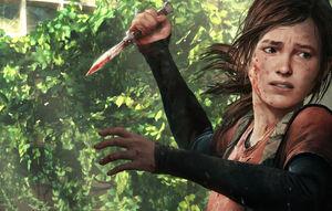 Ellie the knifeman