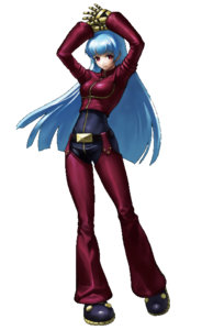 King of Fighters - Kula Diamond as seen in King of Fighters XIII