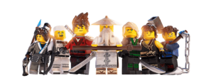 Ninjago characters 2017