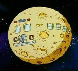 The Magic School Bus as a Moon