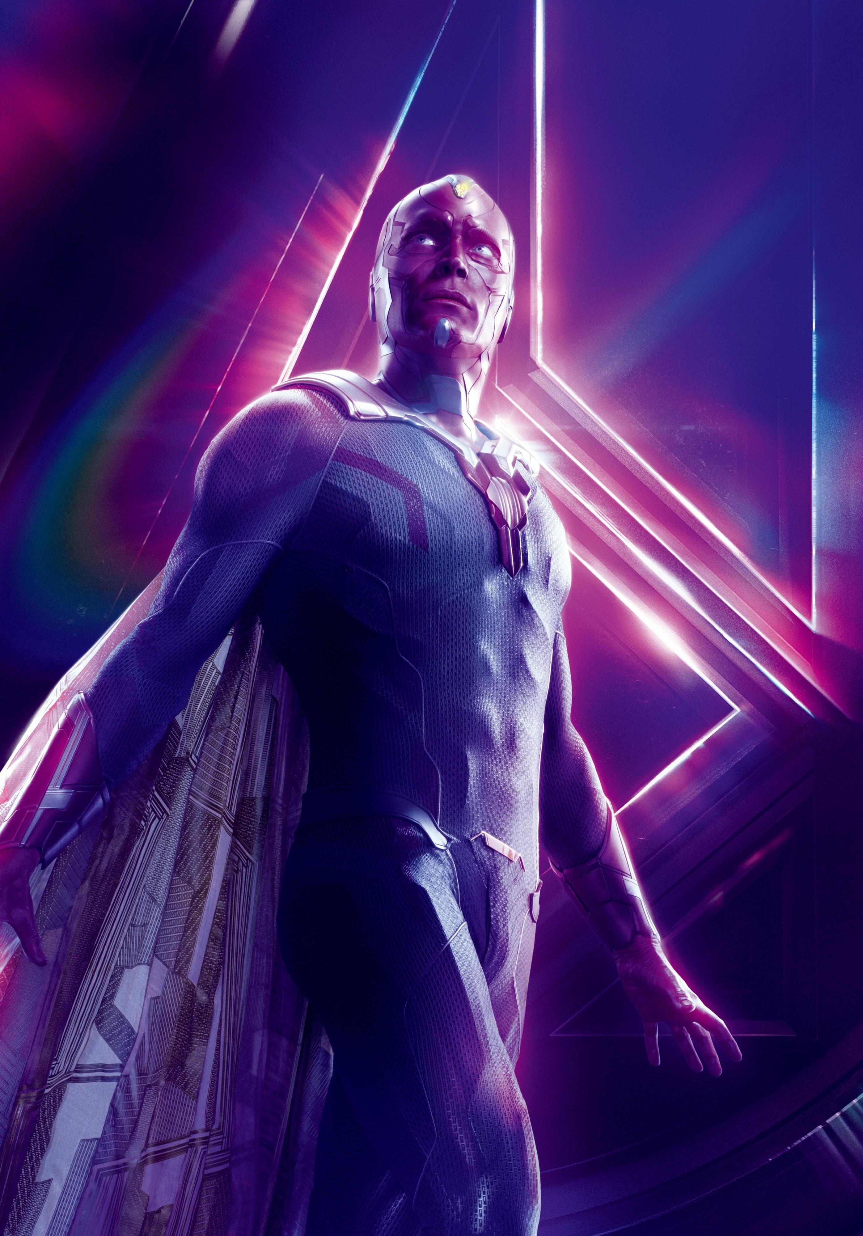 Vision Marvel Cinematic Universe Heroes Wiki Fandom