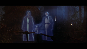 Anakin Force ghosts