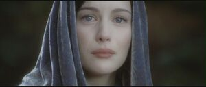 Arwen sees her child