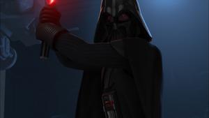Darth Vader preping
