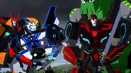 Drift, Sideswipe and Strongarm