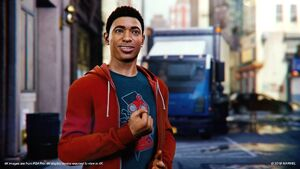 Miles Morales Spider Man PS4 Wallpaper