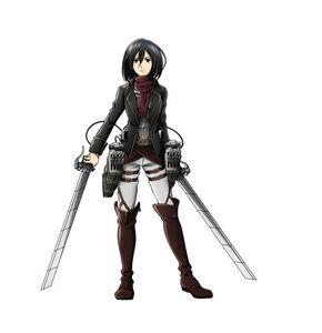 Shingeki no Kyojin Mikasa (483)
