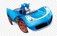 Sonic and sega all stars racing transformed sonic
