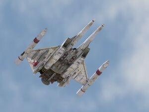 Zanac flying