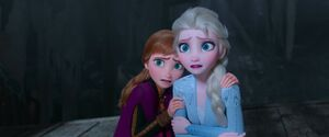 Frozen II - Anna and Elsa witness their parents' fate