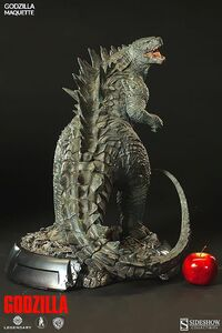 Sideshow Collectibles 24-inch Godzilla 2014 Maquette 2