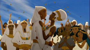 Joseph and Asenath marry