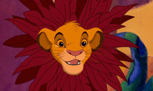 Lion king simba flower