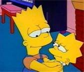 Lisa and Bart