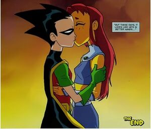 RobStar Comic Kiss