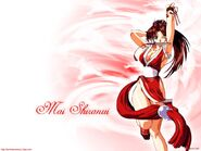 ! of fighters mai shiranui anime girls desktop