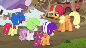 Applejack --I thought you all wanted our help-- S6E14