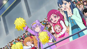 HuPC43 The girls cheering for Homare