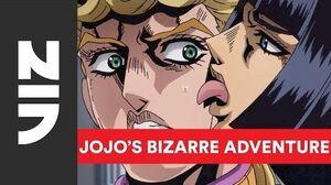 JoJo's Bizarre Adventure Golden Wind on Toonami English Dub Debut VIZ