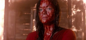 Mia after defeating the demon