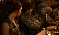 Olenna (at Tyrion's wedding)