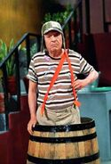 Chespirito chavo del 8 in the barrel