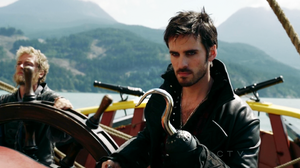 Colin O'Donoghue as Captain Hook on Once Upon A Time S02E04 Crocodile 9